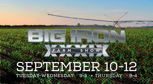 Big Iron Farm Show, september 10-12